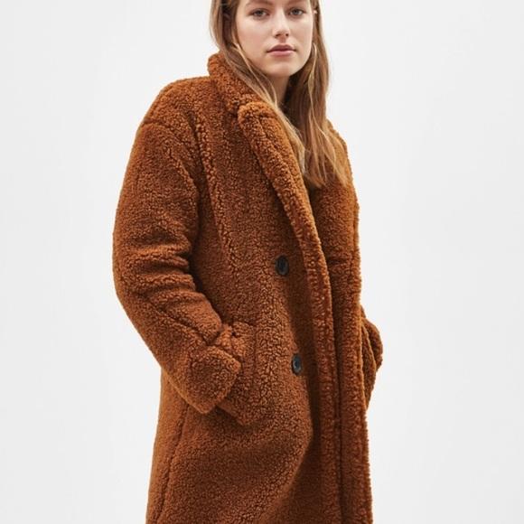 0194022c197 Bershka Jackets & Coats   Teddy Coat   Poshmark